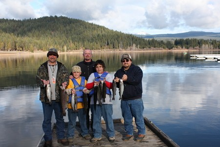 4 limits of Lake Siskiyou Trout